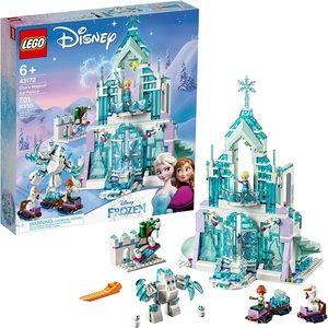 LEGO FROZEN II ELSA'S MAGICAL ICE PALACE (43172).